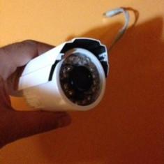 Detector microfoane - Camera supraveghere exterior cu infrarosu 420 TVL, 6 MM