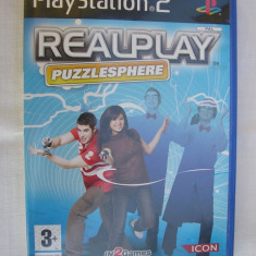 JOC PS2 REALPLAY PUZZLESPHERE ORIGINAL PAL / STOC REAL / by DARK WADDER - Jocuri PS2 Altele, Arcade, 3+, Multiplayer
