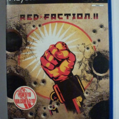 JOC PS2 RED FACTION 2 ORIGINAL PAL / STOC REAL / by DARK WADDER - Jocuri PS2 Thq, Actiune, 16+, Multiplayer