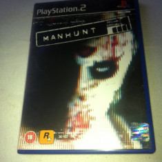 JOC PS2 MANHUNT ORIGINAL PAL / STOC REAL / by DARK WADDER - Jocuri PS2 Rockstar Games, Actiune, 18+, Single player