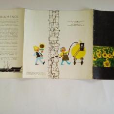 Pliant / reclama romaneasca ULEI DE FLOAREA SOARELUI PRODEXPORT ROMANIA, anii ' 70 - Reclama Tiparita