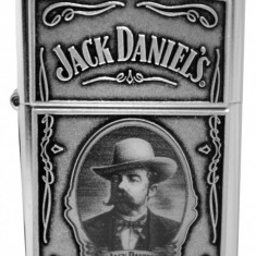 ZIPPO Bricheta Colectie Jack Daniels Editie Limitata Autentica Made in USA - Bricheta Zippo, De buzunar