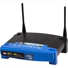 Routere Linksys by Cisco WAP54G si BEFW11S4 import SUA, Porturi LAN: 1, Porturi WAN: 4