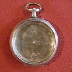 Ceas de buzunar - CARCASA PENTRU CEAS BUZUNAR ARGINT
