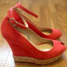 Sandale dama, Marime: 36, Corai - Sandale Zara