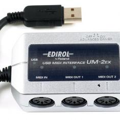 Interfata audio midi Edirol UM-2EX USB MIDI Interface roland