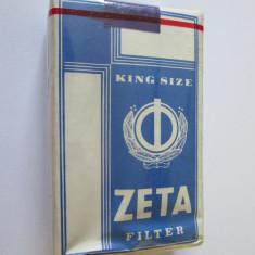 Pachet tigari - PACHET NOU TIGARI COLECTIE ZETA DIN ANII 80