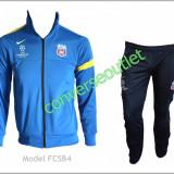 Trening NIKE FC STEAUA BUCURESTI - Bluza si Pantaloni Conici - Pret special - - Trening barbati, Marime: S, Culoare: Bleu, Bleumarin