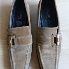 Pantofi dama - Pantofi Geox Respira, 100% piele naturala; marime 38 (25.2 cm talpic interior)
