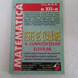 MATEMATICA TESTE DE EVALUARE