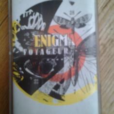 Caseta audio Enigma - Voyageur originala ambient experimental electronic electro chillout synth Gregorian chants Michael Cretu Romania - Muzica Chillout, Casete audio