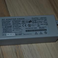 ALIMENTATOR / INCARCATOR FUJITSU LIMITED 16V 3.75A 60W P/N CA1007-0850 MUFA CU PINI - Incarcator Laptop Fujitsu Siemens, Incarcator standard