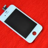 LCD Retina Display iPhone 4S alb original + Touchscreen - Display LCD