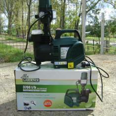 Pompa gradina Mr. Gardener, Pompe de suprafata - Pompa pentru apa/ vin/lichide 3700 cu automatizare(hidrofor) Filtru apa incorporat