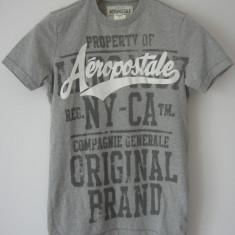 Tricou Aeropostale USA, XXS, original 100%, bumbac 100%, nou cu eticheta, Culoare: Gri, Unisex