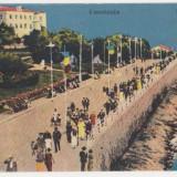 Constanta,Bulevardul,animatie,necirculata,interbelica