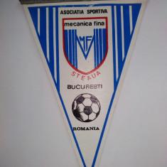 Fanion fotbal - Fanion Asociatia Sportiva Mecanica Fina - Steaua Bucuresti