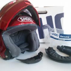 Casca SHOEI MULTITEC Metallic Flip-Up Helmet XS - Casca moto
