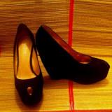 Pantofi dama Aldo, Marime: 38, Negru - Pantofi negri - ALDO