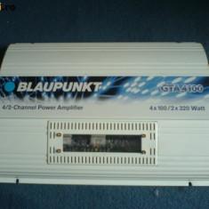 Amplificator / statie blaupunkt gta 4100 - Amplificator auto Blaupunkt, peste 200W