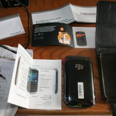 URGENT SI IEFTIN Blackberry 9320 nou (in tipla) cu factura + HUSA - cutie si accesorii si garantie pana in 22.12.2014 - Telefon mobil Blackberry 9320, Negru, Orange