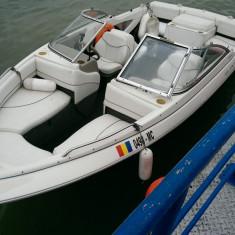 Barca cu motor, An fabricatie: 1999, Interior, Benzina, Numar motoare: 1, Fibra de sticla - AMBARCATIUNE BAYLINER 195 CAPRI