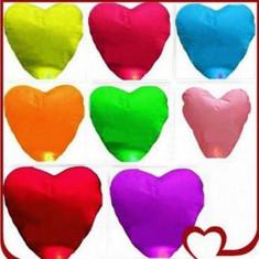 Lampioane inima / inimioara 50 bucati