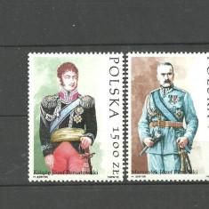 Timbre straine, Europa, Militar - Polonia 1992 - DECORATII SI UNIFORME MILITARE, serie nestampilata T249