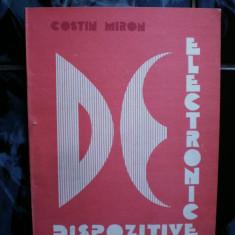 Dispozitive electronice - Costin Miron