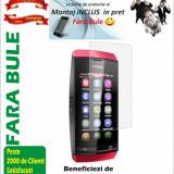 Folie de protectie Transparenta Nokia Asha 305 MONTAJ iNCLUS in Pret
