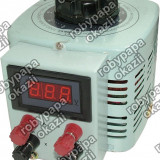Autotransformator monofazic, 220V - 0...220V - 1.000W, cu voltmetru  77023