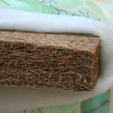 Saltea Copii, 120x60cm - Saltea fibra cocos 100% bebe