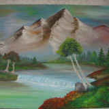 Tablou, Peisaje - Pictura ulei pe panza