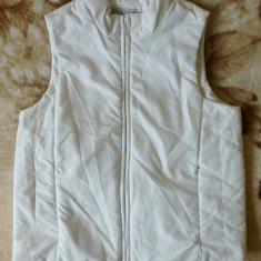 Vesta dama - Vesta Cibyll Jeans; marime 34/36: 48.5 cm bust, 53.5 cm lungime; impecabila
