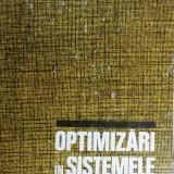 TH. MICLESCU, G. BAZACLIU - OPTIMIZARI IN SISTEMELE ENERGETICE { 1977, 262 p. }