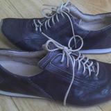 Pantofi dama, Marime: 39.5, Negru - Pantofi din piele firma Roberto santi marimea 39, arata ca noi!