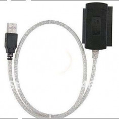 Adaptor interfata PC - Adaptor USB 2.0 la IDE SATA 5.25 S-ATA/2.5/3.5