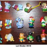 Surpriza Kinder - Lot figurine KINDER #018
