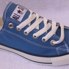 Tenesi Converse All Star Albastru Blug - Tenisi barbati Converse, Textil