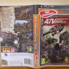 ATV Offroad Fury 4 Pro (PSP) (ALVio) + sute de alte jocuri ( vand / schimb ) - Jocuri PSP Sony, Curse auto-moto, 3+