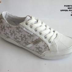 Pantofi sport dama-WINK-FS 256-3 - Adidasi dama Wink, Marime: 36, 37, 38, 39, 40, 41, Culoare: Alb