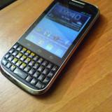 Samsung Galaxy Chat B5330 - Telefon Samsung, Negru, 32GB, Neblocat, Single core, 3 GB
