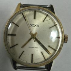 Ceas de mana - DOXA - VINTAGE - CEAS BARBATESC DE COLECTIE - ELVETIAN - ANII 1960 - 70 - STARE DE FUNCTIONARE - DIAMETRUL 34 MM