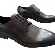 Pantofi barbati piele naturala Denis-2562-G-m