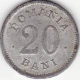 20 BANI -1900 FALS DE EPOCA -- RRRR!!!! - Moneda Romania