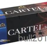 TUBURI CARTEL 500 tuburi, filtre tigari / cutie, pentru injectat tutun, tigari