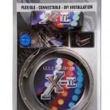 Led auto - Banda flexibila 30cm, 15 LEDuri albastre X-II