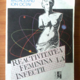 Carte Medicina - P BALTACEANU ION OCTAV - REACTIVITATEA FEMININA LA INFECTII