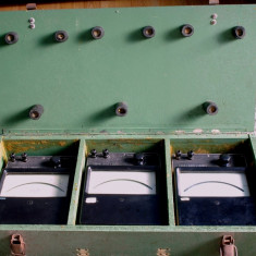 Ampermetru etalon analogice cu oglinda - Multimetre