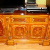 Mobila de arta, clasica, sufragerie IMPERIAL, mobila stil, sufragerie GIOCONDA (Mona Lisa), Garnitura IMAR Arad, mobila sculptata din lemn masiv - Mobilier, Seturi, Dupa 1950